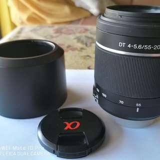 2nd Sony Dslr Lense 55-200 SAM