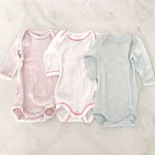 New baby girl rompers (newborn to 1 month)
