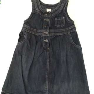 Charity Sale! Authentic Old Navy Girls Denim Dress size 5T
