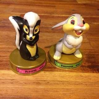 🚚 迪士尼 小鹿斑比 兩款合售