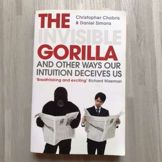 """""""The Invisible Gorilla and Other Ways Our Intuition Deceives Us"""""""