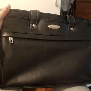 Samsonite Leather Laptop Bag