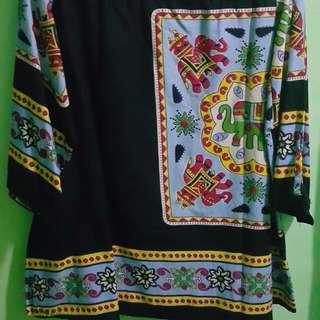 Batik hitam