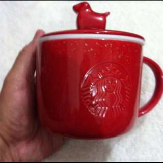 Starbucks Cup Year Of The dog with lid