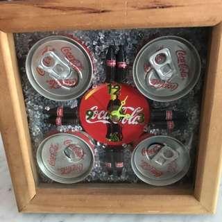 Coca Cola stand clock