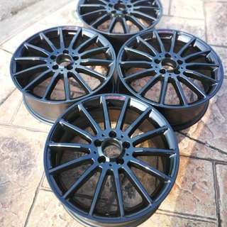 "18"" Rim refurbish service"
