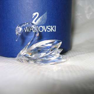 施華洛世奇水晶 絕版 天鵝 Swarovski Crystal SWAN 15152
