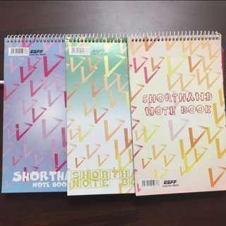 Shorthand Notebook
