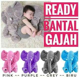 Boneka Gajah Import Bantal Guling Bayi Bentuk Gajah