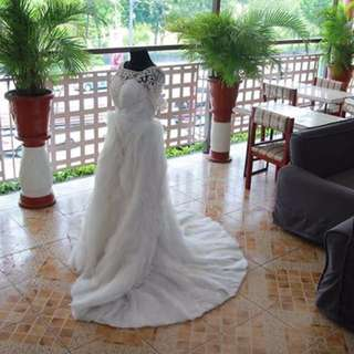 repriced! wedding gown