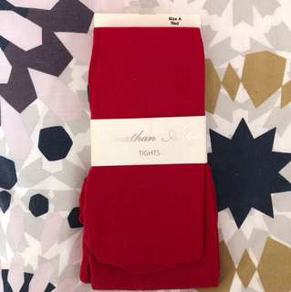 Jonathan Aston red tights size A