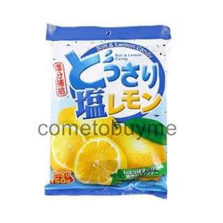 日本cocon可康 海鹽檸檬糖果 鹽分補給 salt&lemon candy