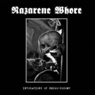 NAZARENE WHORE 'Nocturnal Evil Split' Limited Edition 7""