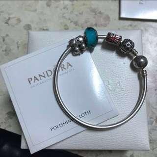 Pandora 手厄 17cm 手鏈 手鈪 charm 潘朵拉