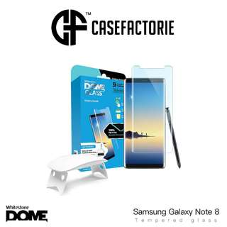 Whitestone Dome Full Adhesive Tempered Glass for Note 8