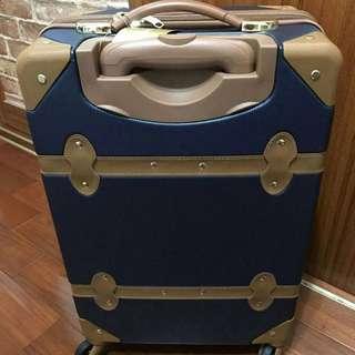 20吋復古行李箱 #新春八折