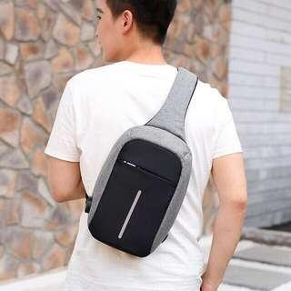 Anti theft Cross Body Travel Bag (Chest Shoulder)