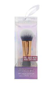 Real technique limited edition face brush travel size bnib