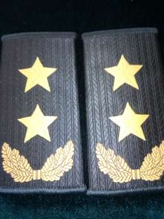 07式陸军中将夏日软肩章