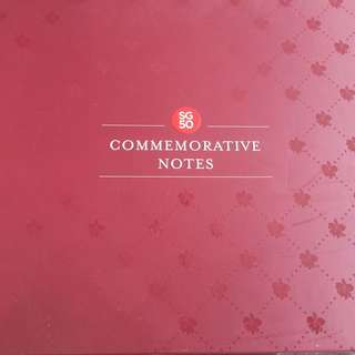 SG 50 commemorative note album