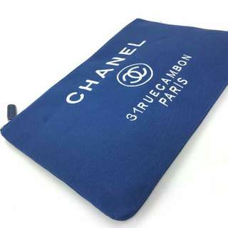 Chanel deauville pouch /clutch
