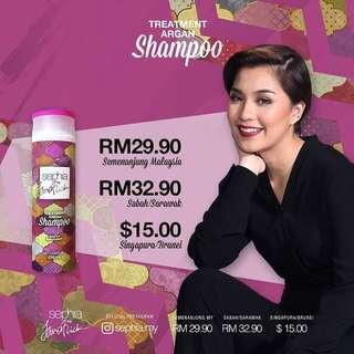 Sephia Treatment Argan Shampoo by Janna Nick