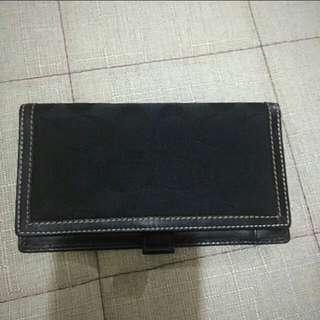 Authentic Coach Check Holder