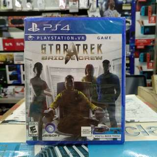 🆕 PS4 Star Trek Bridge Crew VR