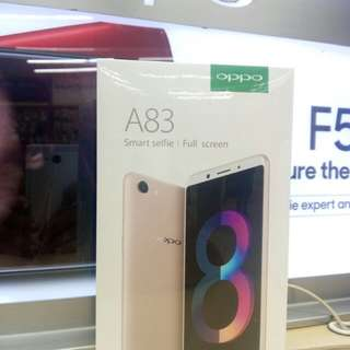 OPPO A83 New Series, kredit murah promo Dp hanya 830k