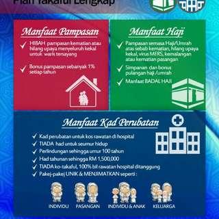 Med Card + Simpanan Haji & Umrah
