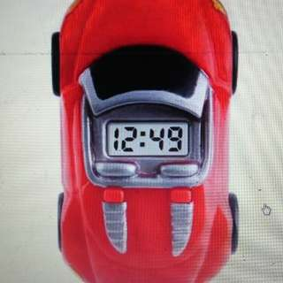 Jam tangan anak mobil mobilan merah Skmei Original