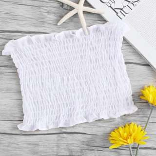 (INSTOCK) White Tube Top