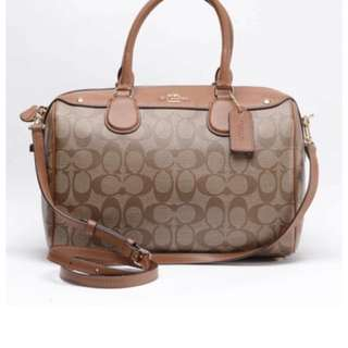 Coach Signature Bennett Satchel (brand new)