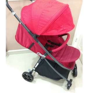 Stroller Sweet Heart Paris Tesoro (Red Color)