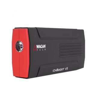 Wagan Tech 7503 IonBoost V8 Lithium Jump Starter and Power Bank