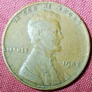1942 wheat penny
