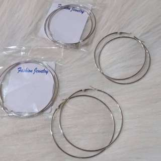 Hoop Earrings (2pairs)