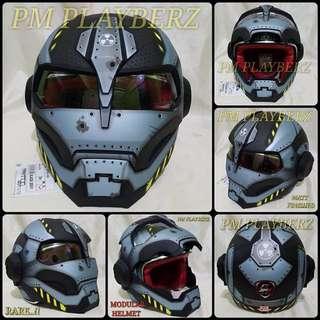 Mask Flipable Helmet