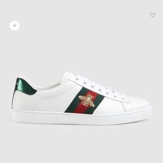 二手Gucci 黃蜂鞋 eu42連盒,塵袋