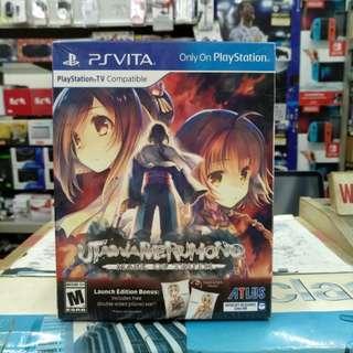 🆕 PS Vita Utawarerumono Mask Of Truth