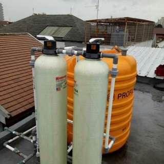 Paket filter air sumur/pdam