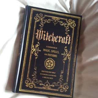Witchcraft handbook of spells magic & potions