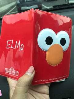 Universal Studio Singapore Elmo Passport Holder