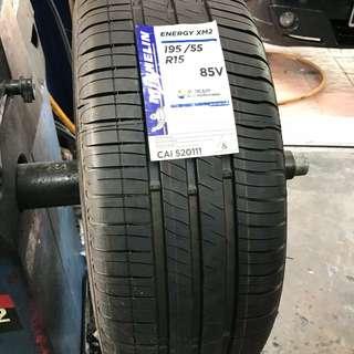 195/55/15 XM2 Michelin Tyre