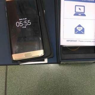 Samsung S7 EDGE 32GB Dual sim ex international mulus fulset minus speker sember