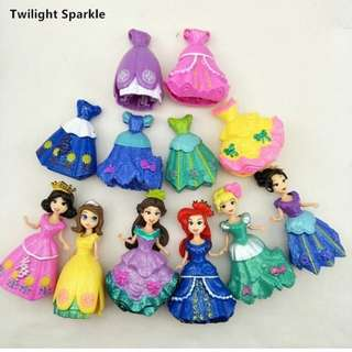 Princess dress clip on