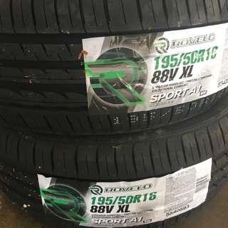 195/50/16 Sport A1 Rovelo Tyre
