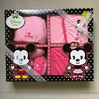 Minnie New Born Gift Set
