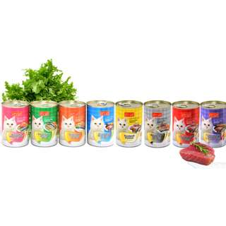 [ PET FOODIES ] ARISTO-CATS® JELLY CAN FOOD-400G