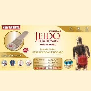 JEIDO POWER WAIST (Alat terapi pinggang made in KOREA)